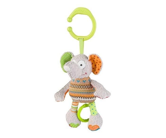 Купить Подвесные игрушки, Подвесная игрушка BabyOno музыкальная Слоник