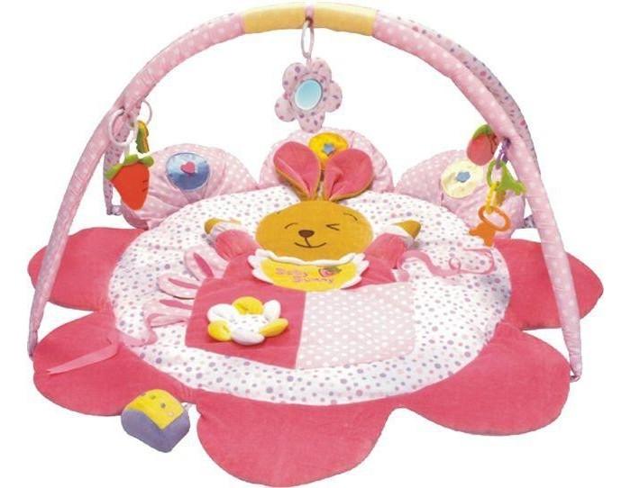 Развивающий коврик Baby Mix Кролик (лепесток)