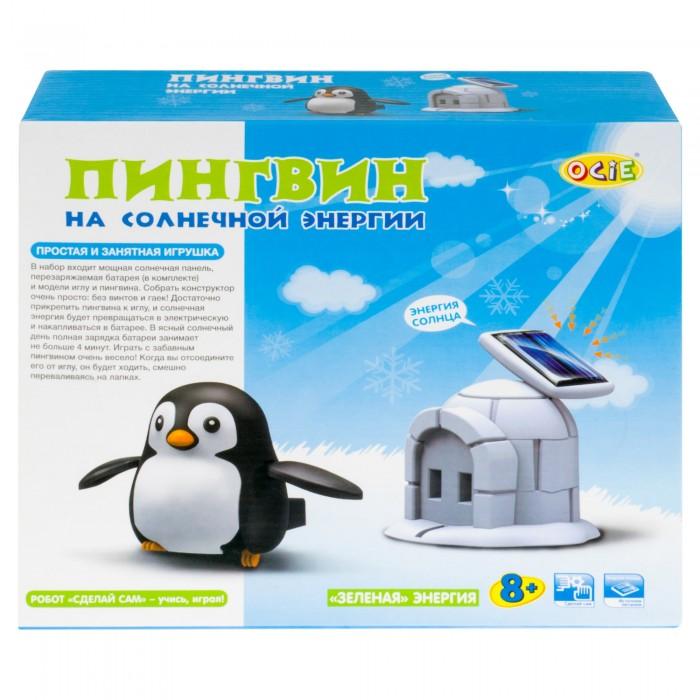Наборы для опытов и экспериментов Ocie Конструктор Пингвин на солнечной энергии набор 4 в 1 ocie космические исследователи на солнечной энергии otc 0874270