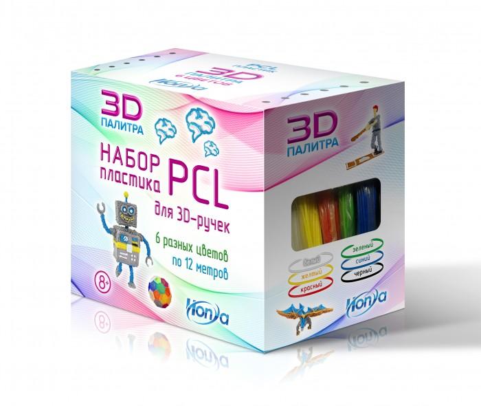 Купить Наборы для творчества, Honya Набор пластика PCL 6 различных цветов SC-PCL-06