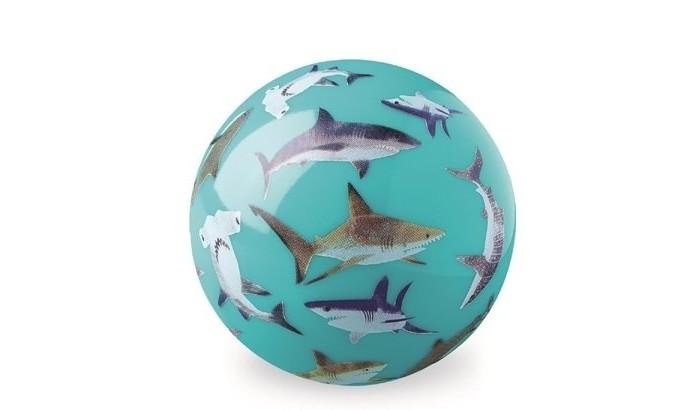 Мячики и прыгуны Crocodile Creek Мяч Акулы 4 мячи crocodile creek футбольный мяч акулы 18 см