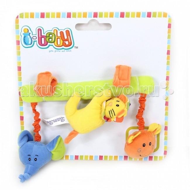 Подвесные игрушки I-Baby Друзья из джунглей подвесные игрушки i baby сова