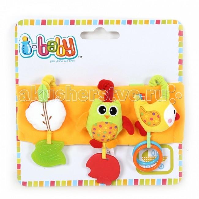 Подвесные игрушки I-Baby Сова развивающие игрушки i baby сова на мяче