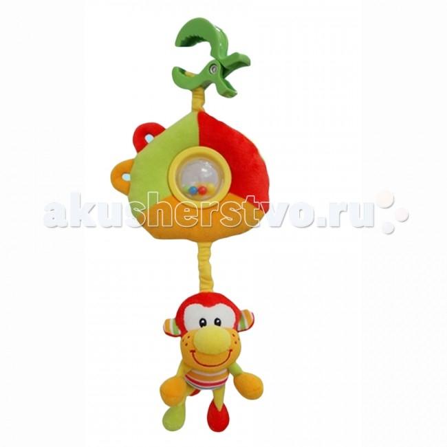 Подвесные игрушки I-Baby развивающая Обезьяна подвесные игрушки i baby сова