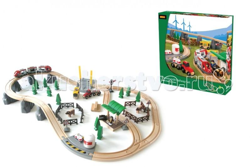 Brio Подарочный набор Железная дорога Путешествие 75 деталей