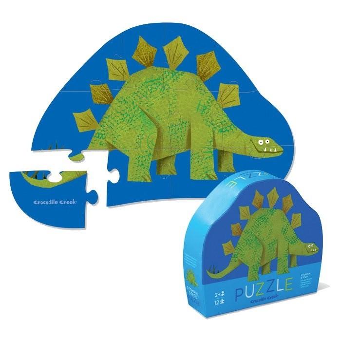Купить Пазлы, Crocodile Creek Пазл Динозавр (12 деталей)