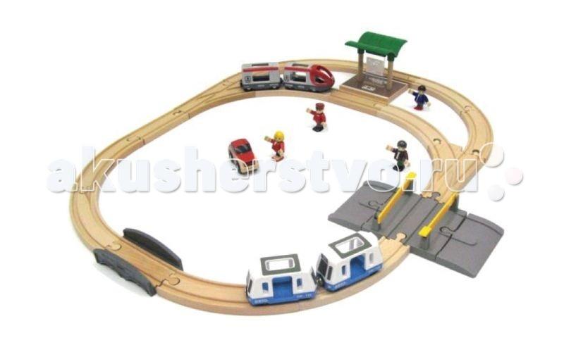 Brio Подарочный набор Железная дорога Городской транспорт