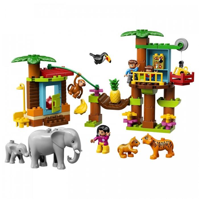 Конструктор Lego Duplo Town Тропический остров