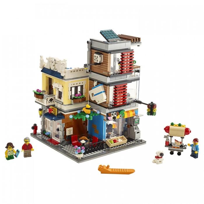 Картинка для Lego Lego Creator Зоомагазин и кафе в центре города