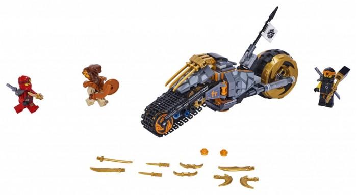 Конструктор Lego Ninjago Раллийный мотоцикл Коула фото