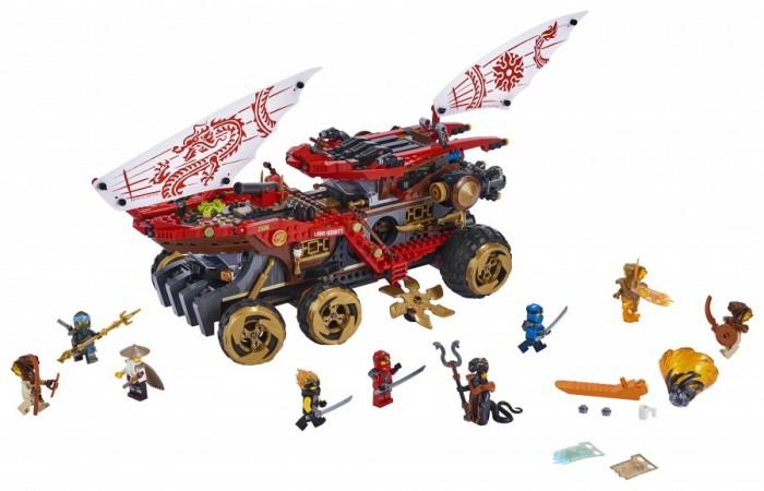 Конструктор Lego Ninjago Райский уголок