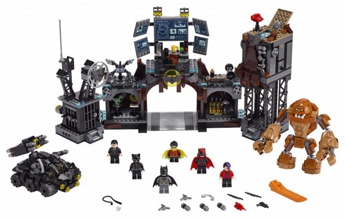 Конструктор Lego Super Heroes Вторжение Глиноликого в бэт-пещеру
