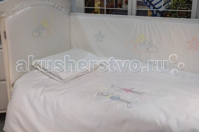 Купить Комплекты в кроватку, Комплект в кроватку Makkaroni Kids Horses 120х60 (6 предметов)