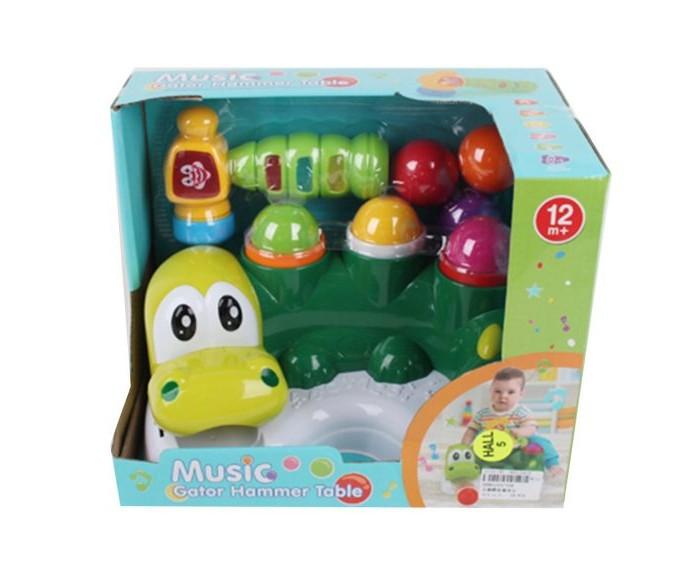 Купить Игровые наборы, Наша Игрушка Крокодил с молоточком