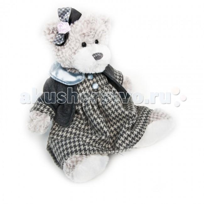 Мягкая игрушка Maxitoys Luxury Мишка Белла в одежде 25 см