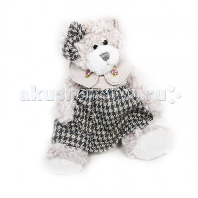 Мягкие игрушки Maxitoys Luxury Мишка Белла в платье 20 см мягкие игрушки maxitoys мишка минти 26 см
