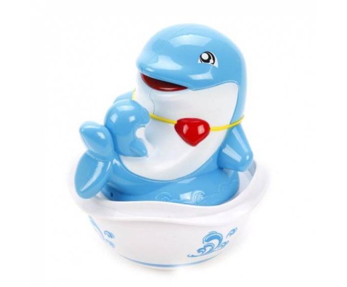 Игрушки для ванны S+S Toys Неваляшка Бамбини Дельфинчик
