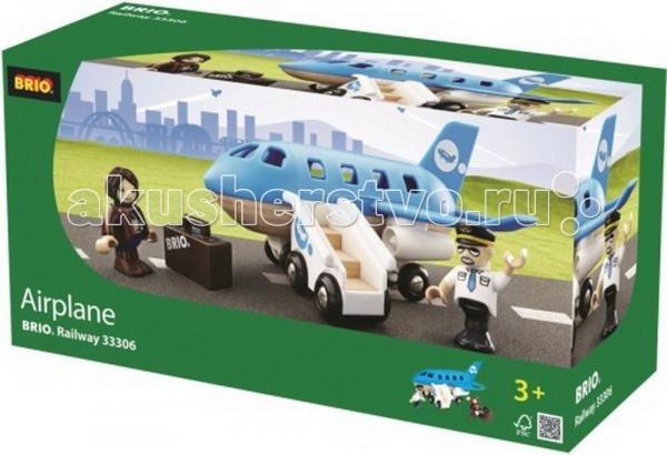вертолеты и самолеты Вертолеты и самолеты Brio Самолетик с трапом