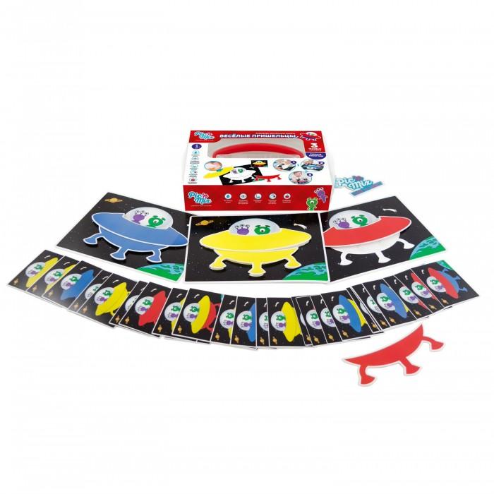 Развивающие игрушки Pic`n Mix Пазл-липучка Веселые пришельцы pic'nmix игра веселые пришельцы с 3 лет