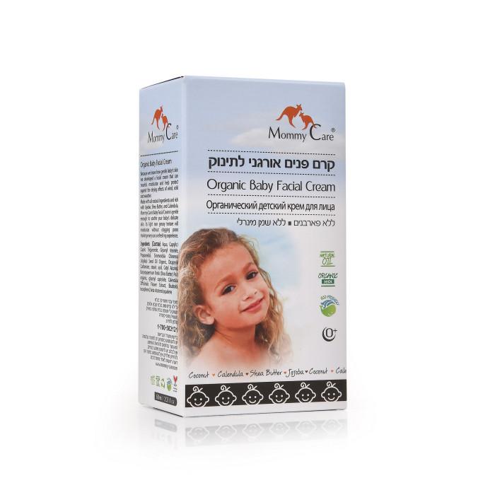Косметика для новорожденных Mommy Care Органический крем для лица 60 мл mommy care бальзам для защиты от ветра и холода 50 мл