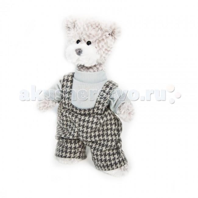 Мягкие игрушки Maxitoys Luxury Мишка Бруно в штанишках 20 см мягкие игрушки maxitoys мишка минти 26 см