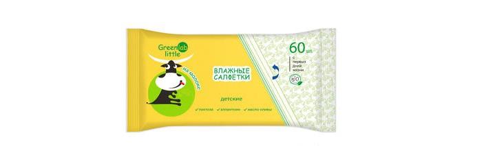 Купить Greenlab Little Литлл салфетки влажные детские 60 шт. в интернет магазине. Цены, фото, описания, характеристики, отзывы, обзоры
