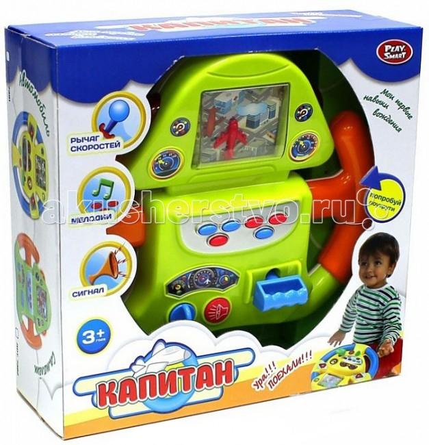 все цены на Развивающие игрушки Play Smart Руль детский Р41062 онлайн