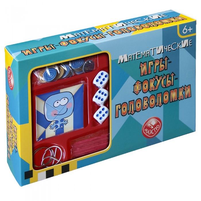 Настольные игры Маэстро Математические игры-фокусы-головоломки смыкалова е в математические каникулы игры и головоломки