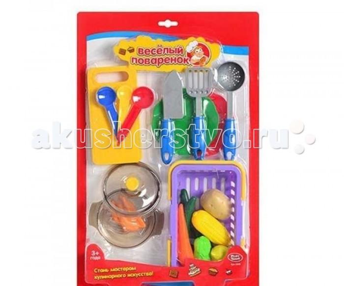 Игровые наборы Play Smart Кухонные принадлежности и муляжи Веселый поваренок Р41343