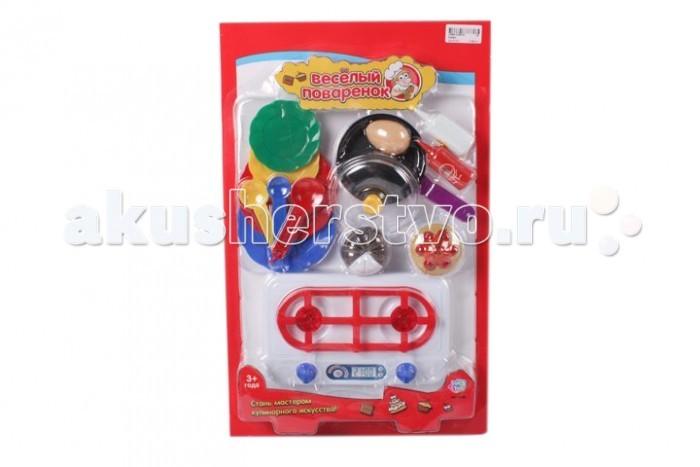 Игровые наборы Play Smart Кухонные принадлежности и муляжи Веселый поваренок Р41347