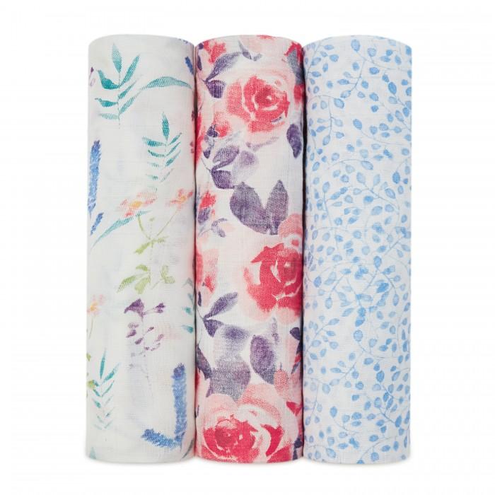 пеленки Пеленки AdenAnais из бамбука 120х120 см 3 шт. WL3003