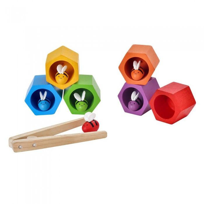 Купить Деревянные игрушки, Деревянная игрушка Plan Toys Игра Пчелки