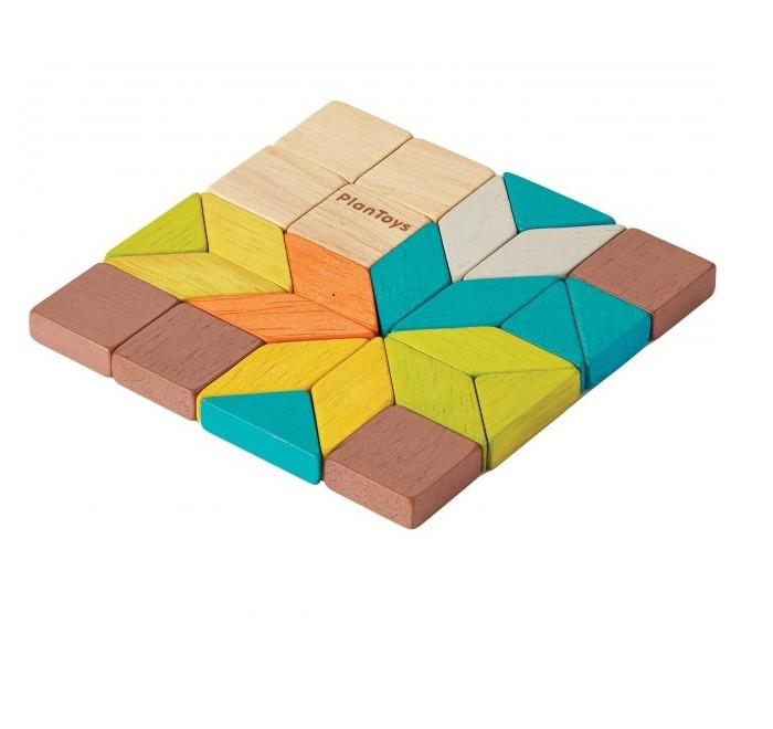 Деревянные игрушки Plan Toys Игра Мозаика