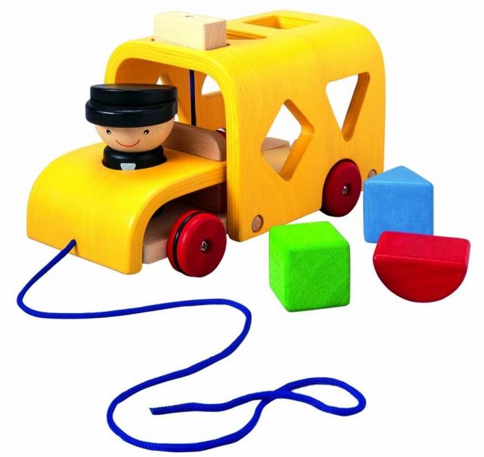 Деревянная игрушка Plan Toys Сортер Автобус