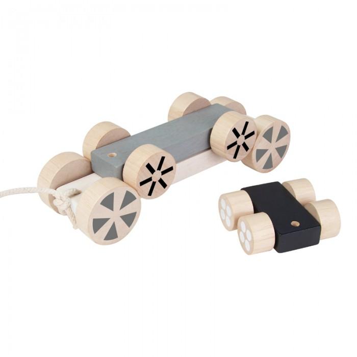 Купить Каталки-игрушки, Каталка-игрушка Plan Toys пирамидка Колёса