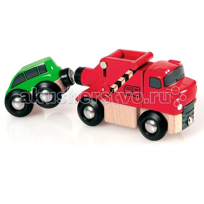 Машины Brio Машинка-буксир с машинкой камаз транспортер с доп машинкой