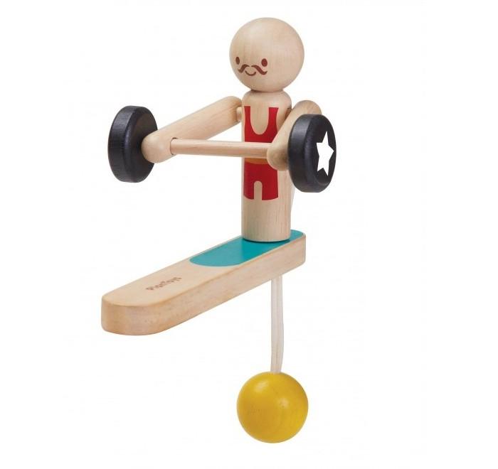 Деревянная игрушка Plan Toys Акробат-тяжеловес фото