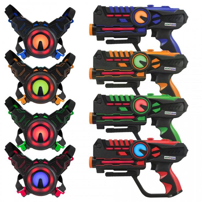 ArmoGear Игровой набор для 4-х игроков Лазертаг