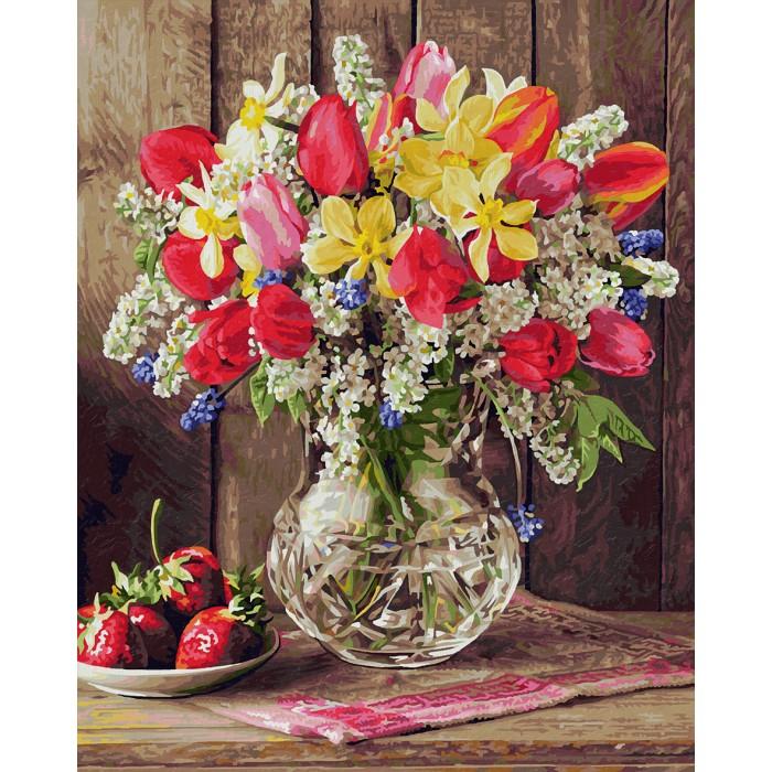 Картины по номерам Schipper Картина по номерам Цветы из домашнего сада 40х50 см