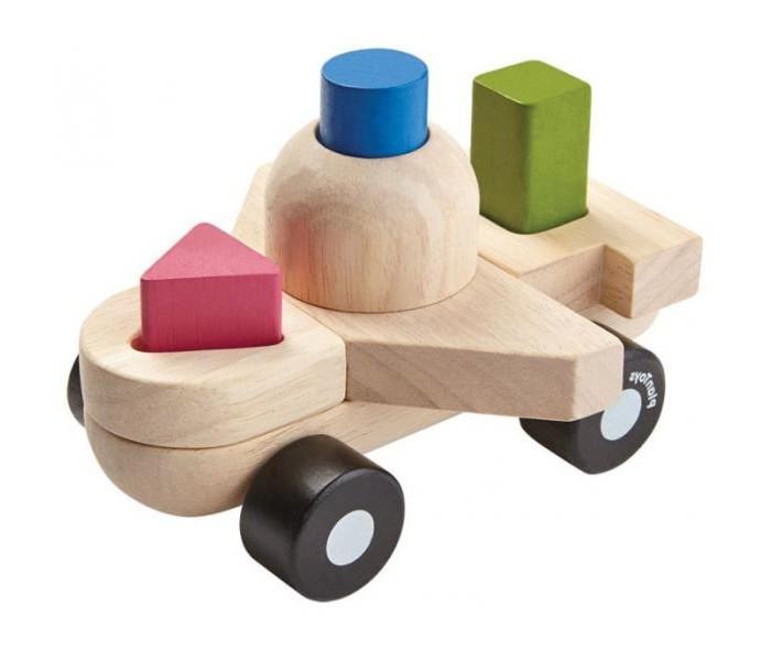 Деревянная игрушка Plan Toys Сортер Самолёт