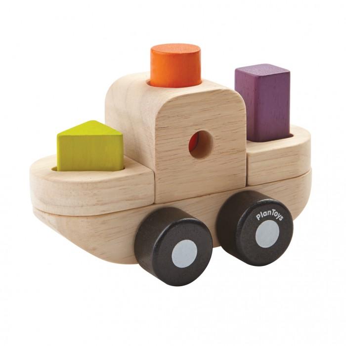 Деревянная игрушка Plan Toys Сортер Корабль