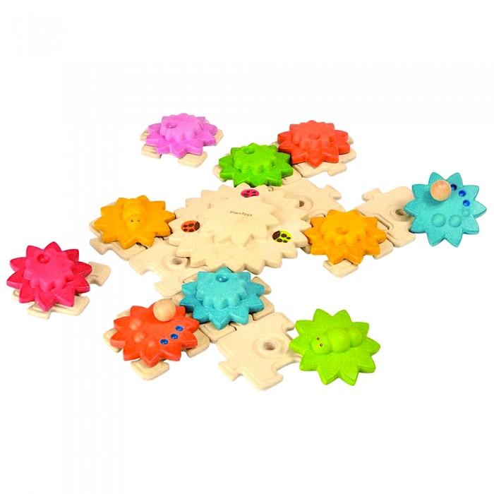 Фото - Деревянные игрушки Plan Toys Игра-шестеренки игра plan toys волчки 4132