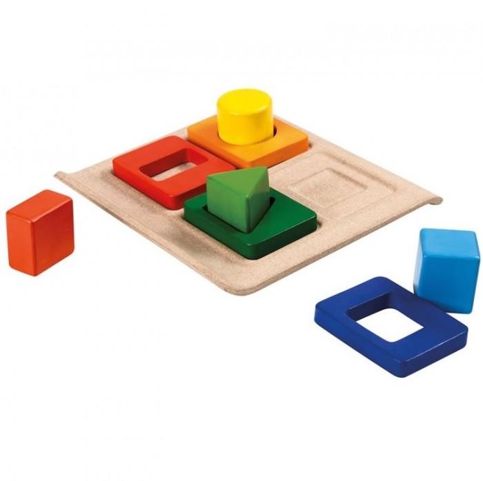 Фото - Деревянные игрушки Plan Toys Сортер Формы plantoys сортер каталка plan toys автобус
