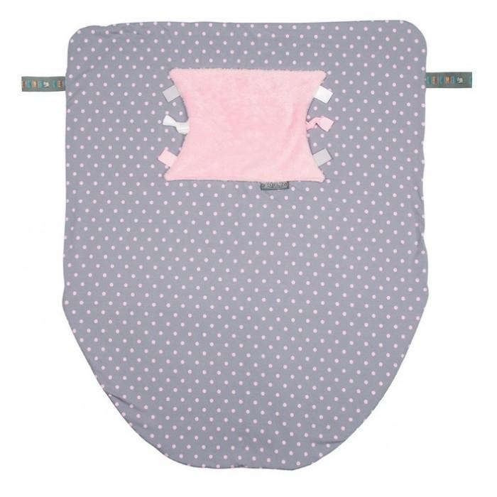 Cheeky Chompers Многофункциональный плед Cheeky Blanket Розовый горошек
