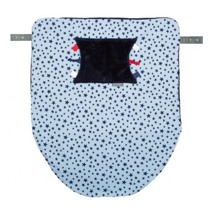 Cheeky Chompers Многофункциональный плед Cheeky Blanket Синие звезды