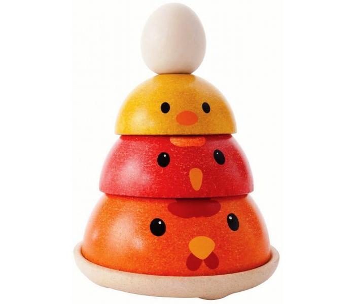 Деревянная игрушка Plan Toys Сортер Куриное гнездо фото
