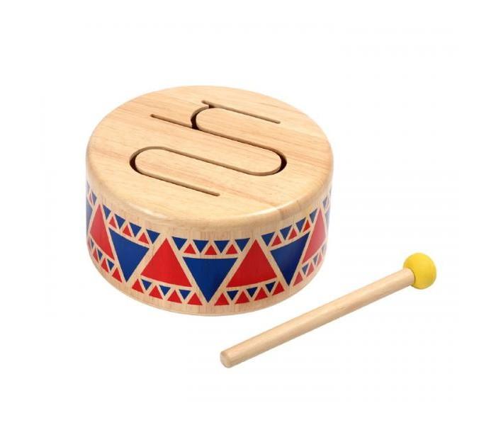Деревянные игрушки Plan Toys Барабан заржицкая э заяц и волшебный барабан