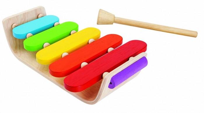 Деревянная игрушка Plan Toys Овальный ксилофон
