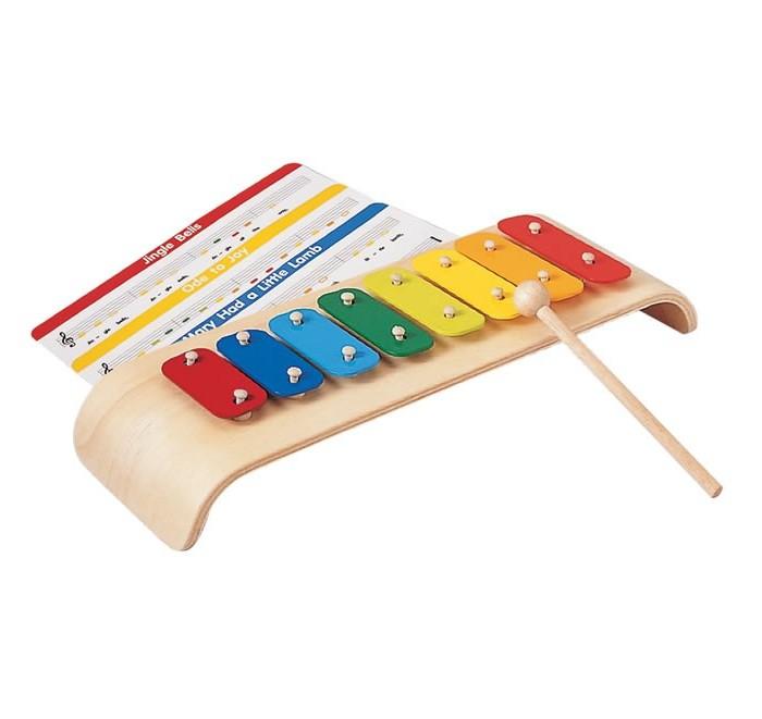 Деревянные игрушки Plan Toys Ксилофон музыкальные игрушки top toys компьютер планшет gt8657