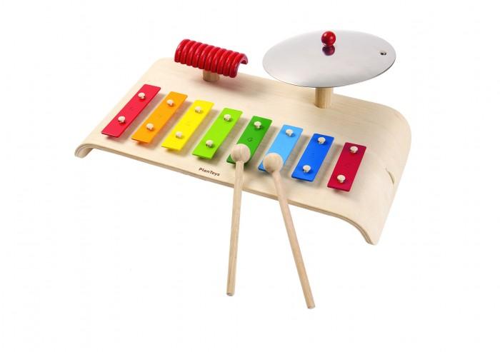 Деревянные игрушки Plan Toys Музыкальный набор plan toys верстак разноцветный